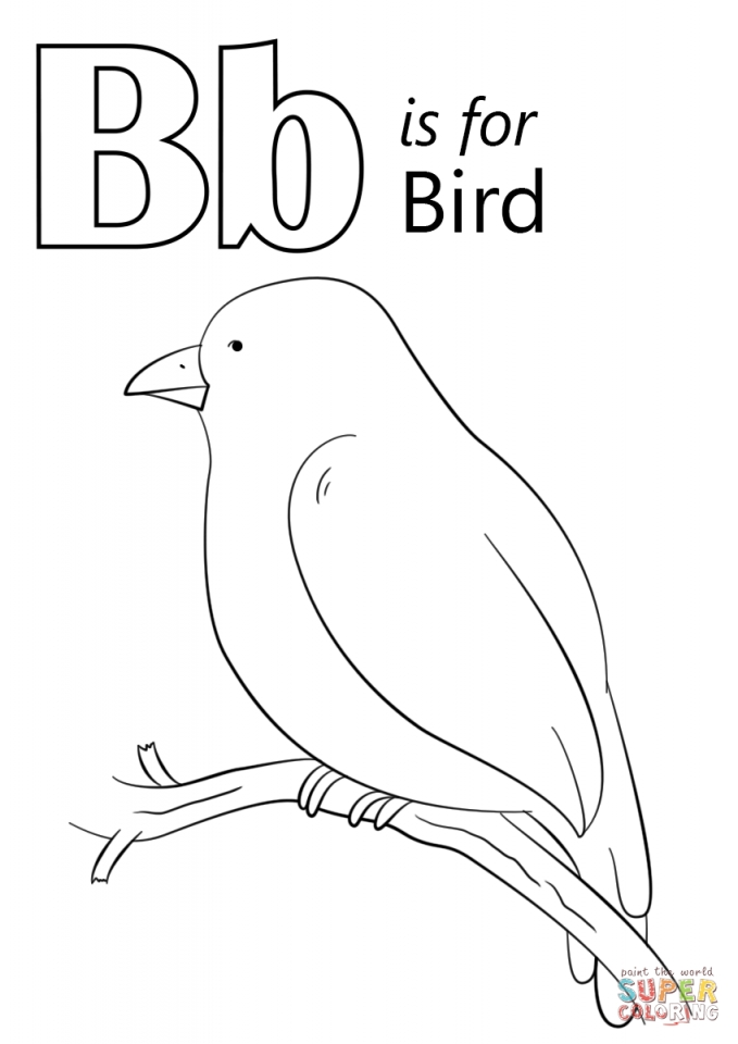 Bird Coloring Pages Free Online   05701