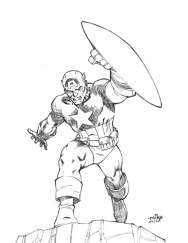 Captain America Coloring Pages for Teenage Boys 77853