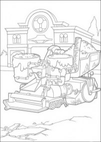 Cars Disney Coloring Pages for Boys 95632