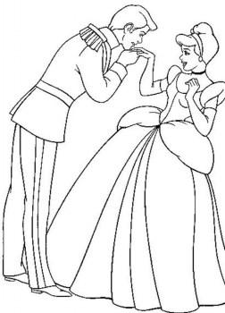 Cinderella Coloring Pages Free Printable 69960