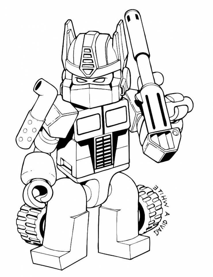 Get This Cool Transformers Coloring Pages for Older Kids