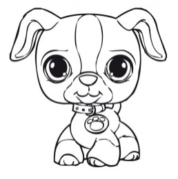 Cute Coloring Pages of Littlest Pet Shop 36179