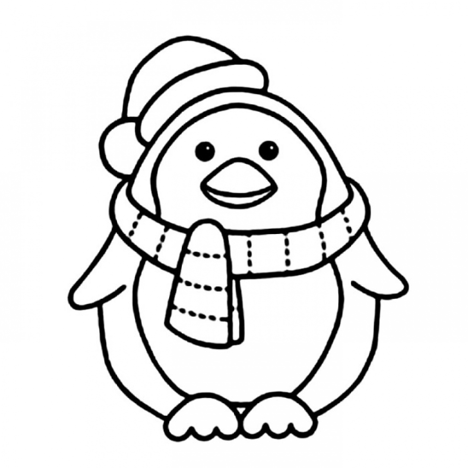 Get This Cute Penguin Coloring Pages 47859