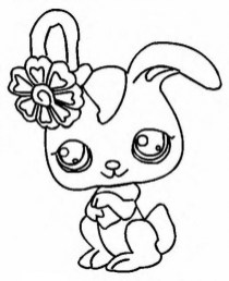 Cute Printable Coloring Pages of Littlest Pet Shop 94620