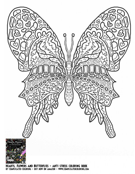 Difficult Adult Coloring Pages to Print Out 13283