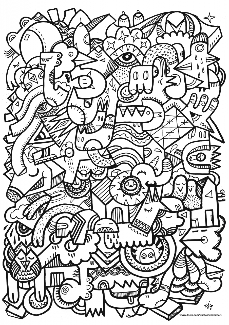 Difficult Coloring Pages for Grown Ups   56172