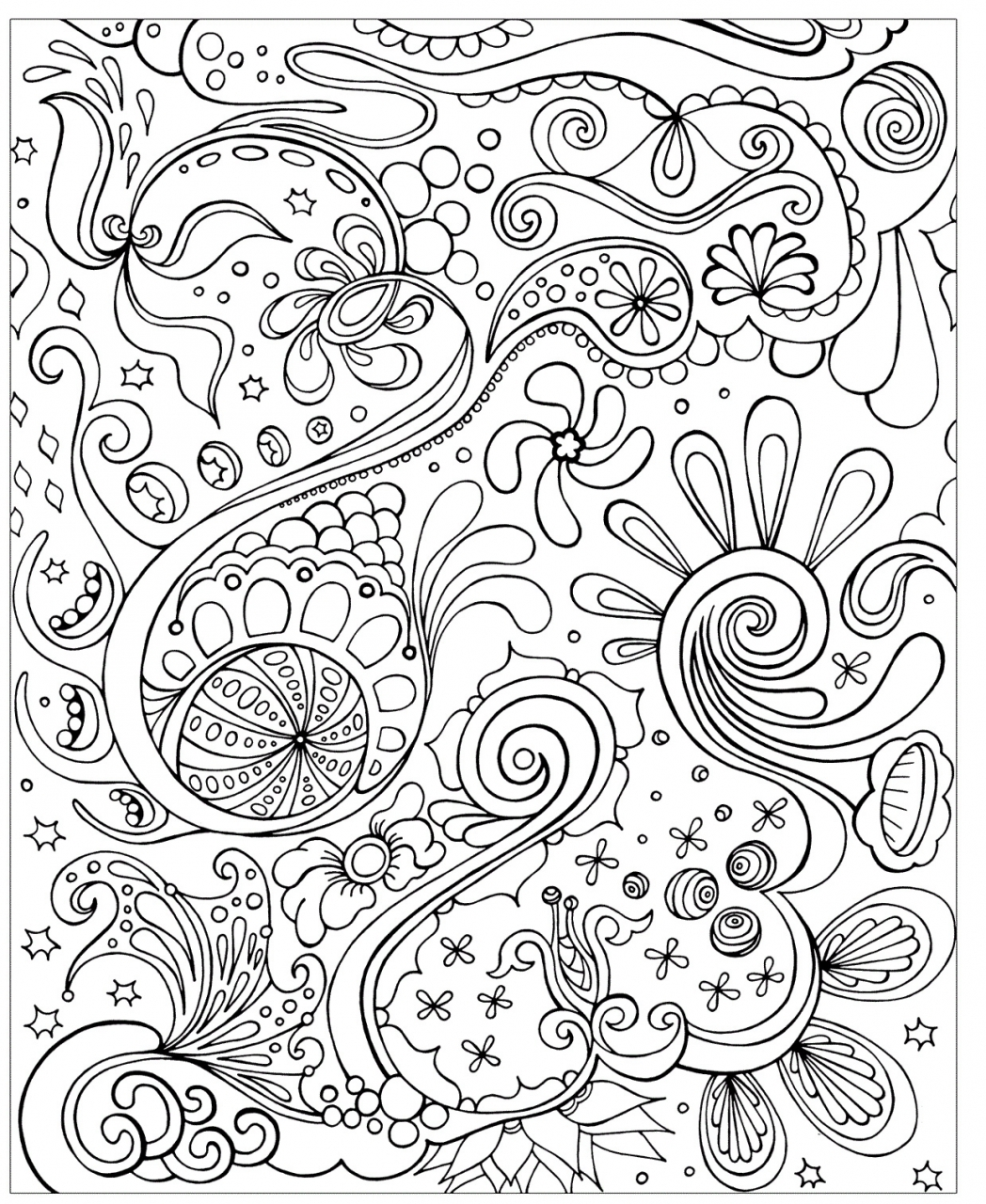 20 Free Printable Tessellation Coloring Pages Everfreecoloring