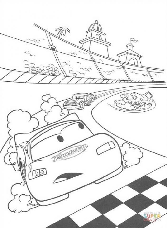 Disney Cars Coloring Pages to Print Out   14267