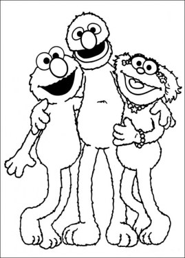 Elmo Coloring Pages Fun Kids Printable 60518