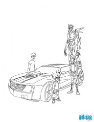 Epic Transformers Coloring Pages for Teenage Boys 1648