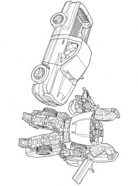 Epic Transformers Coloring Pages for Teenage Boys 3175