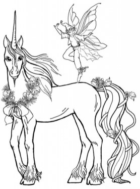 Fairy Coloring Pages Free Printable 30790