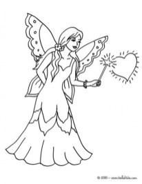 Fairy Coloring Pages Free Printable 36316
