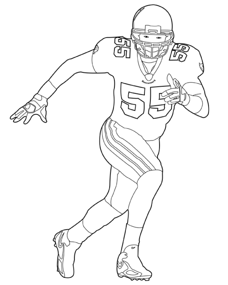 Get This Football NFL Coloring Pages for Boys Printable