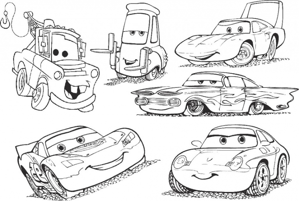 Free Cars Coloring Pages   39193