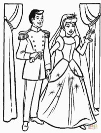 Free Cinderella Coloring Pages to Print 83897