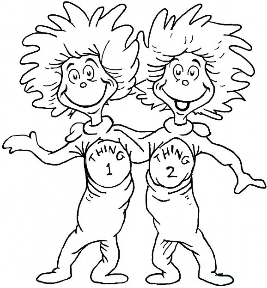 20+ Free Printable Dr. Seuss Coloring Pages