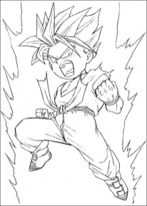 Free Dragon Ball Z Coloring Pages 16969