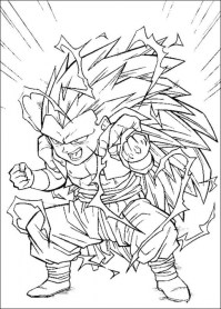 Free Dragon Ball Z Coloring Pages 48296