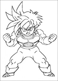 Free Dragon Ball Z Coloring Pages 92178