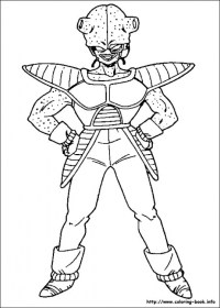 Free Dragon Ball Z Coloring Pages to Print 36824