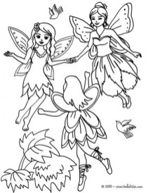 Free Fairy Coloring Pages to Print 45582
