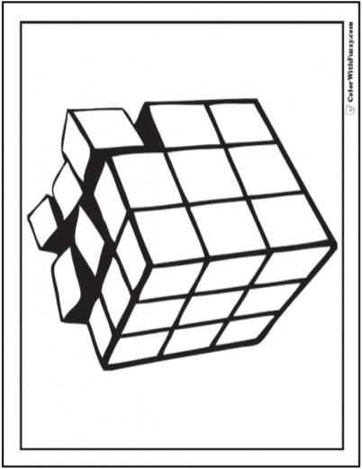 Free Geometric Coloring Pages 46286