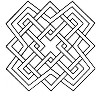 Free Geometric Coloring Pages to Print 29823