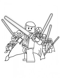 Malvorlagen Lego Star Wars Lego Star Wars Coloring Pages