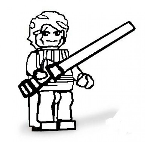 Free Lego Star Wars Coloring Pages to Print 35391
