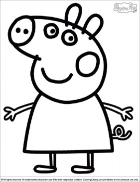 Free Peppa Pig Coloring Pages to Print 92990