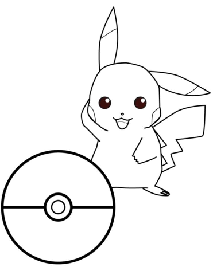 Free Pokemon Coloring Page   16704