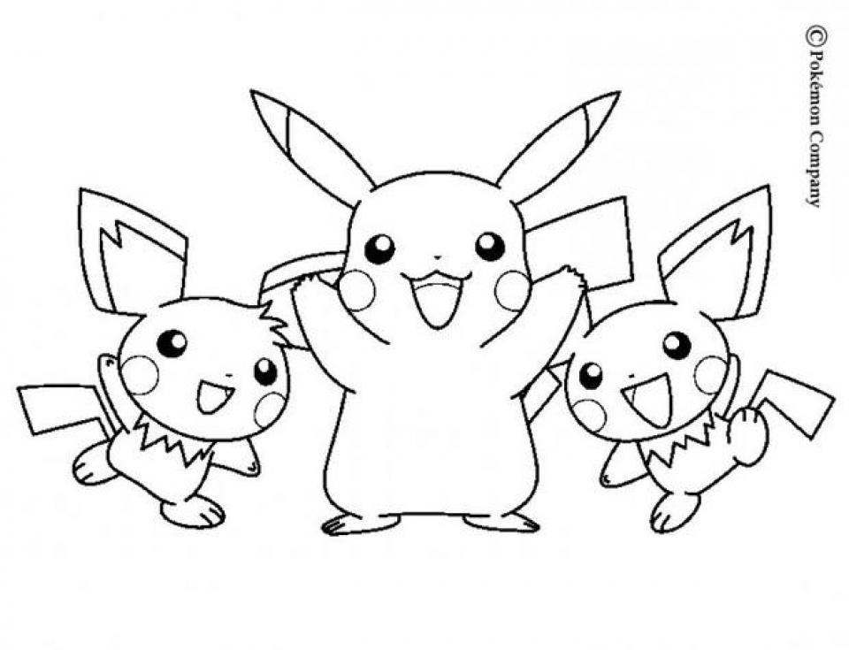 Free Pokemon Coloring Page   5021