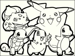 Free Pokemon Coloring Page to Print 48058