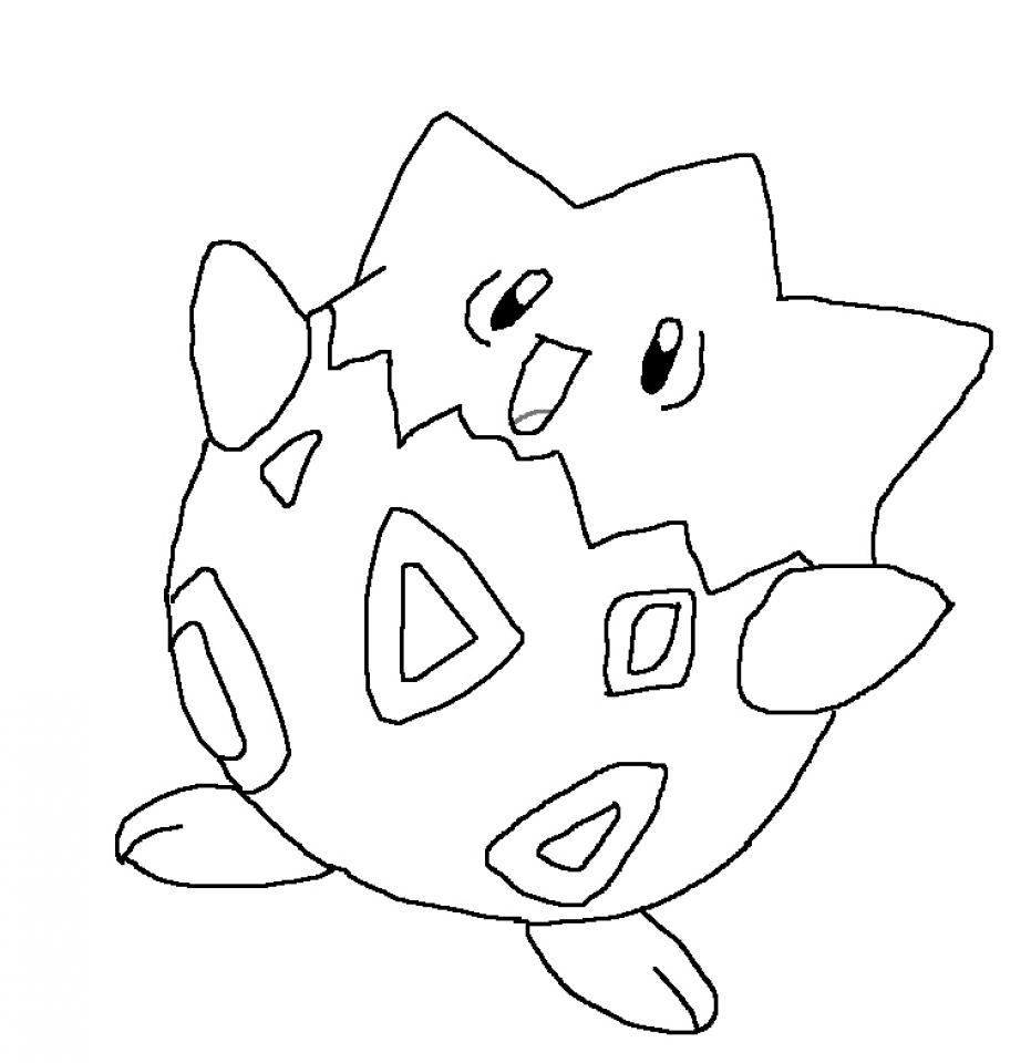 Free Pokemon Coloring Page to Print   551