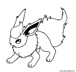 Free Pokemon Coloring Page to Print 61050