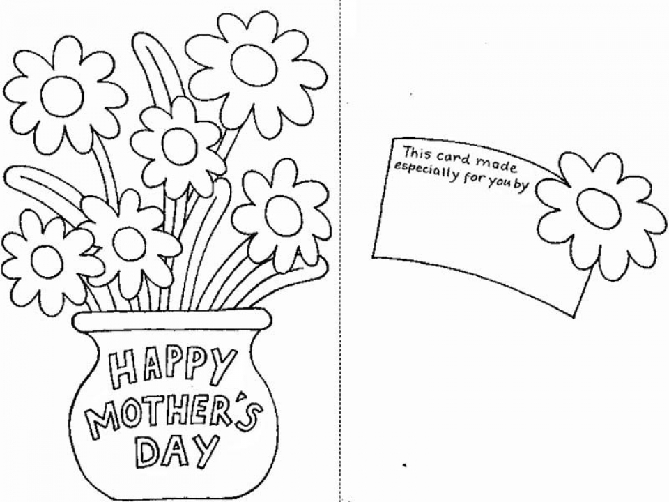 Get This Free Printable Mothers Day Coloring Pages 03803