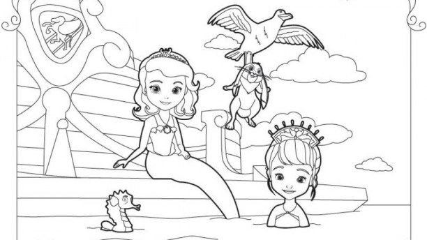Free Sofia the First Coloring Pages 68320