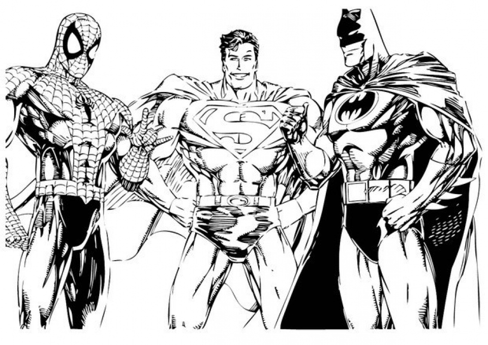 Free Superman Coloring Pages   6985