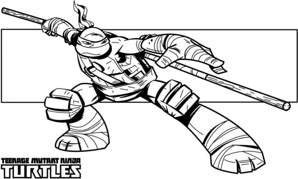 Free Teenage Mutant Ninja Turtles Coloring Pages to Print   32709