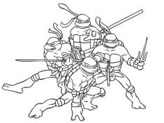Free Teenage Mutant Ninja Turtles Coloring Pages to Print 36823