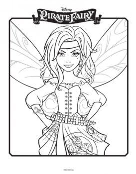 Free Tinkerbell Coloring Pages to Print 75119
