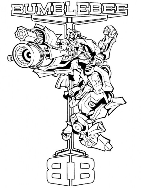 Free Transformers Printables to Color for Kids 35461