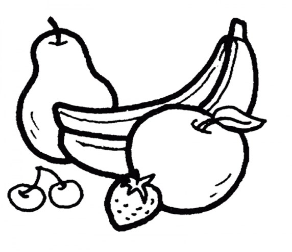 Fruit Coloring Pages Free Printable 4779