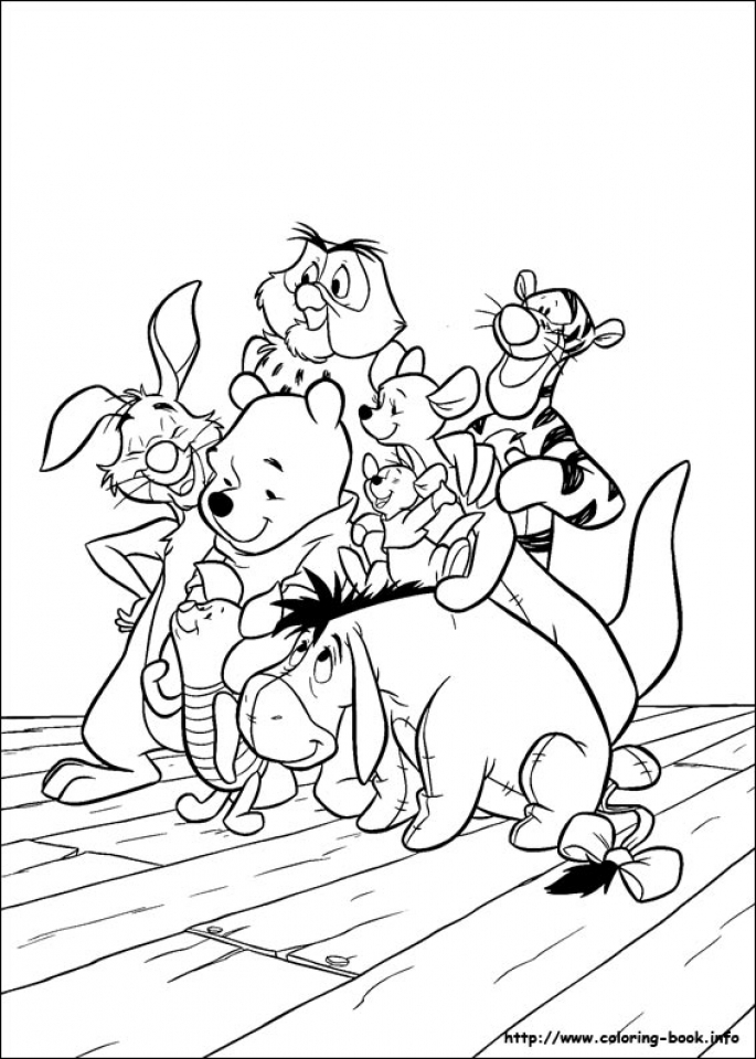 Get This Fun Kids Printable Coloring Pages of Winnie the ...