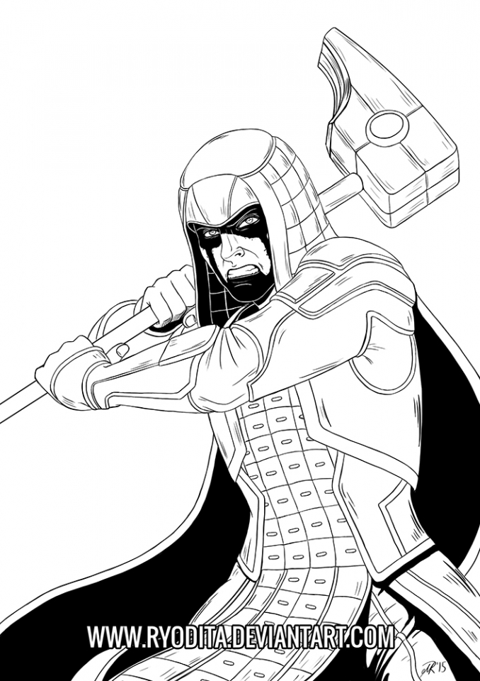 Guardians of the Galaxy Superheroes Coloring Pages Online   83610
