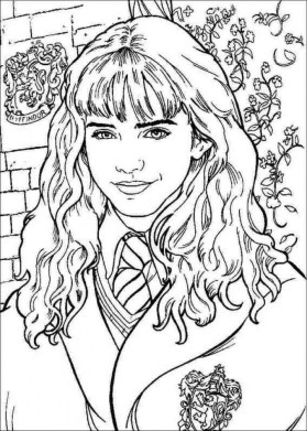 Harry Potter Coloring Pages Free to Print 63442