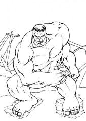 Hulk Coloring Pages Kids Printable 44612