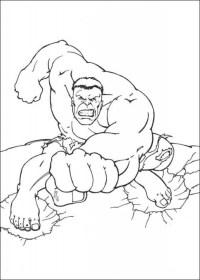 Get This Hulk Coloring Pages Online 74617