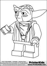 Lego Star Wars Coloring Pages Free Printable 64005